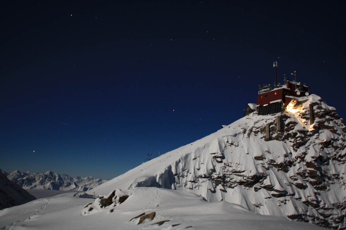 Nachts am Observatorium