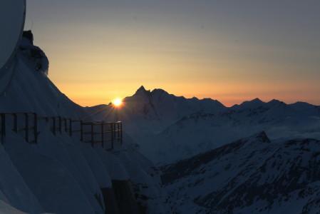 Sonnenuntergang am Großglockner