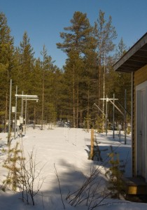 geophysikalische Schneemessungen